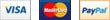 Visa, Mastercard y Paypal